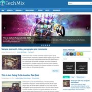 TechMix Blogger Templates