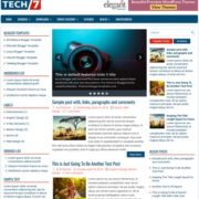TechSeven Blogger Templates