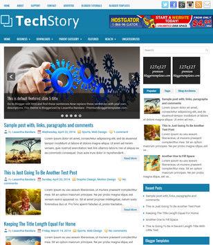 TechStory Blogger Templates