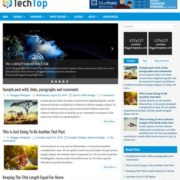 TechTop Blogger Templates