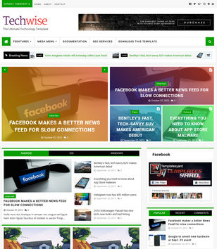 TechWise Blogger Templates