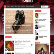 TechWorld Blogger Templates