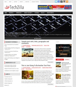 TechZilla Blogger Templates