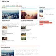 Techclue Responsive Seo Blogger Templates