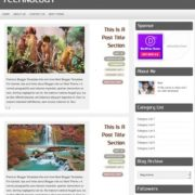 Technology Blogger Templates