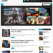 Techy Blogger Templates