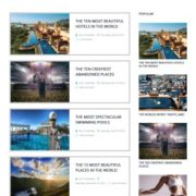Template Blog Post Blogger Templates