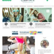 The Essence Blogger Templates