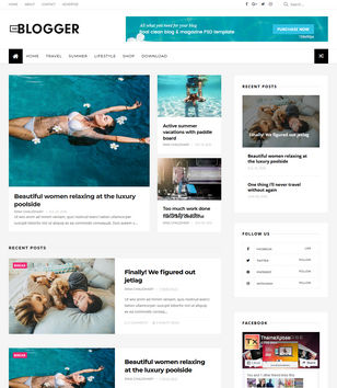 TheBlogger Blogspot Templates