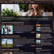 TheCafe Blogger Templates