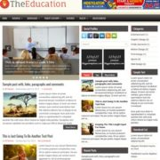 TheEducation Blogger Templates