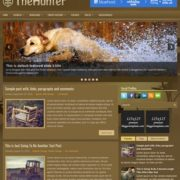 TheHunter Blogger Templates