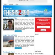 Thesis2 Seo Blogger Templates