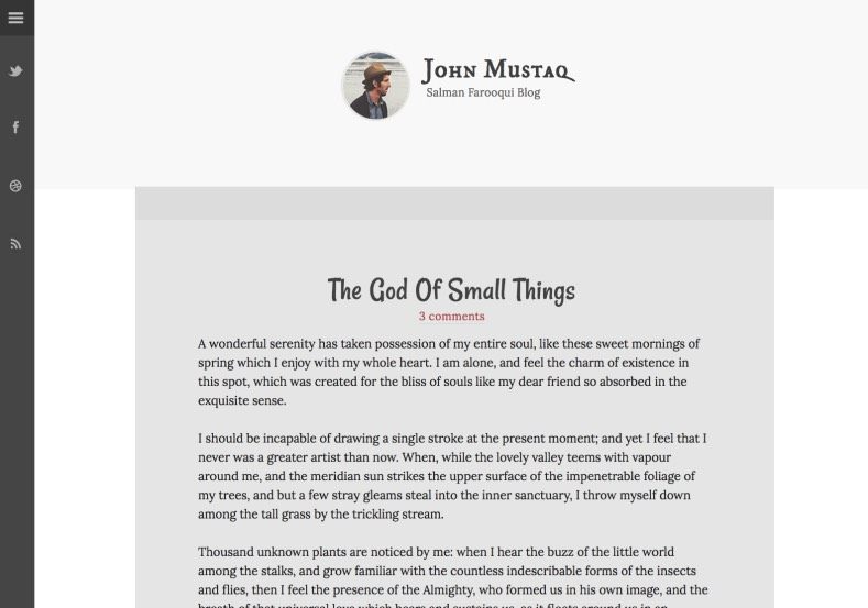 Thoughtful Blogger Template. Thoughtful Blogger Template 2015 premium blogger template