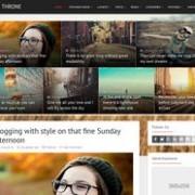 Throne Responsive Blogger Template
