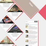 Tiltment Responsive Blogger Templates