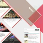 Tiltment Responsive Blogger Template