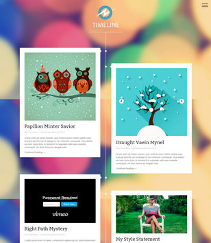 TimeLine Responsive Blogger Template Blogspot Templates - Timeline blogger template