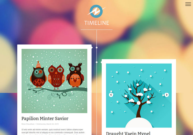 TimeLine Blogger Template best quality profile and personal blogger themes 2017 TimeLine Blogger Template