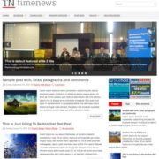 TimeNews Blogger Templates