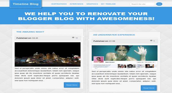 Timeline Blogger Template Images - Timeline blogger template