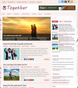 Together Blogger Templates