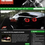 Top Games Responsive Blogger Templates