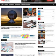 Top News Responsive Blogger Templates