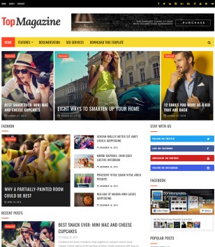 TopMagazine Blogger Templates