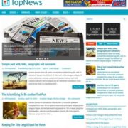 TopNews Blogger Templates