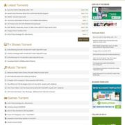 Torrentism Blogger Templates