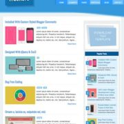 Trackers Mag Responsive Blogger Templates
