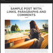 Tracks Responsive Blogger Templates