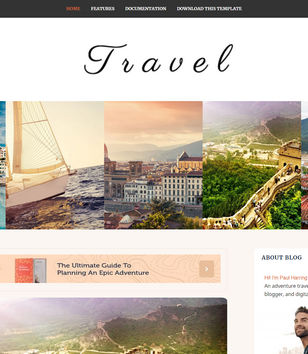 Travel Blogger Templates