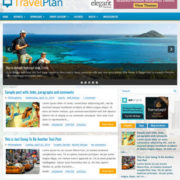 TravelPlan Blogger Templates