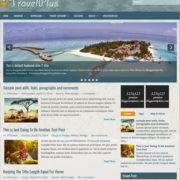 TravelPlus Blogger Templates
