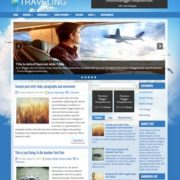 Traveling Blogger Templates