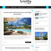 Travelty Blogger Templates