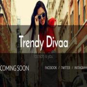 Trendy Divaa soon Blogger Templates
