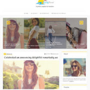 Trendy Travel Blogger Templates