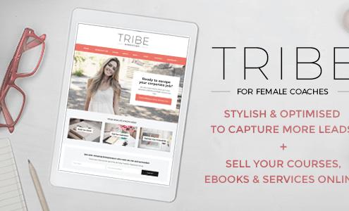 Tribe Coach - Feminine Coaching Business WordPress Theme