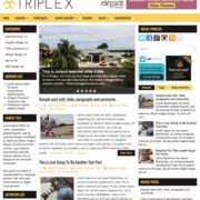 Triplex Blogger Templates
