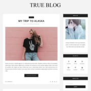 True Blog Blogger Templates