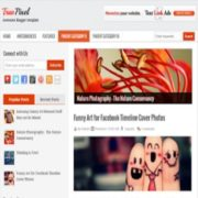 True Pixel Blogger Theme9 Blogger Templates