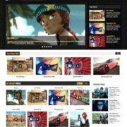 Tube Mag Blogger Templates