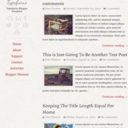Typefocus Responsive Blogger Templates