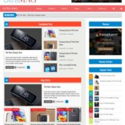 Ultra Mag Responsive Blogger Templates