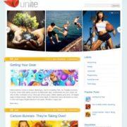 Unite Blogger Templates