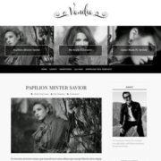 Vanilia Blogger Templates