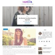 Vanilla Blogger Templates